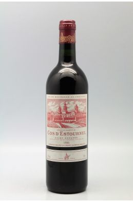 Cos d'Estournel 1986