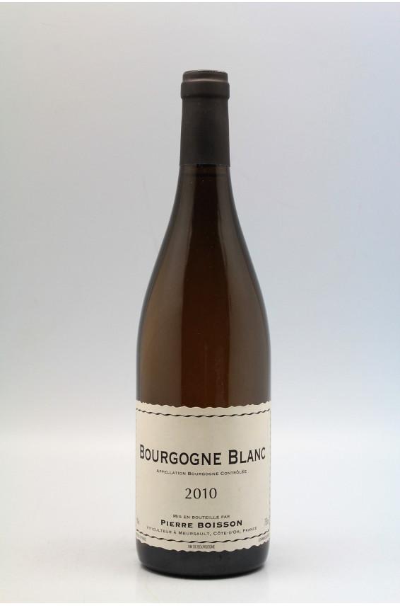 Pierre Boisson Bourgogne 2010 white