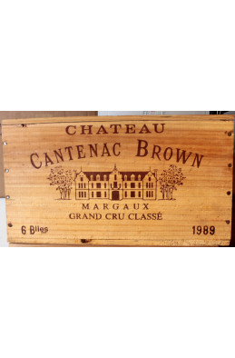 Cantenac Brown 1989 OWC