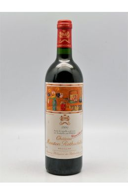 Mouton Rothschild 1991 -5% DISCOUNT !