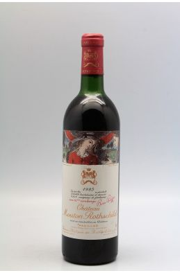 Mouton Rothschild 1985 -5% DISCOUNT !