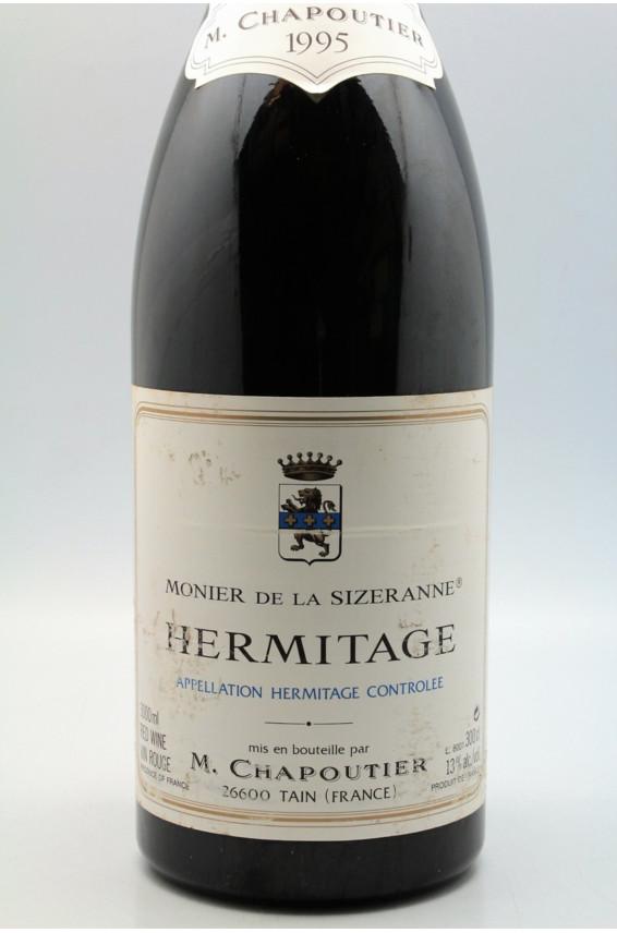 Chapoutier Hermitage Monier de la Sizeranne 1995 Double Magnum