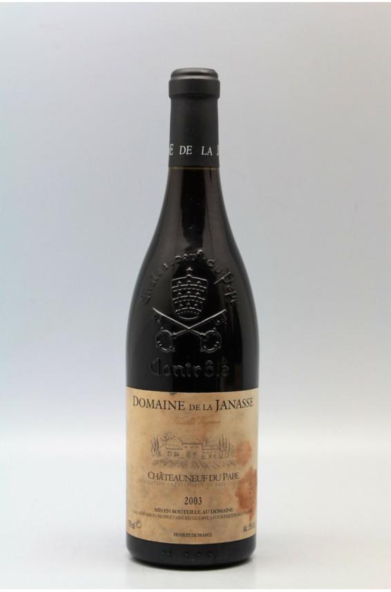 Janasse Chateauneuf du Pape Vieilles Vignes 2003