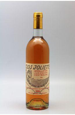 Clos Joliette Jurançon 1984