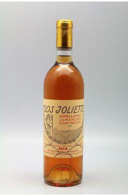 Clos Joliette Jurançon 1974