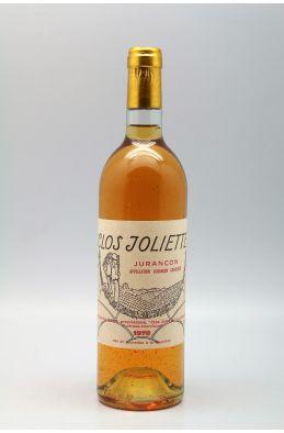 Clos Joliette Jurançon 1978