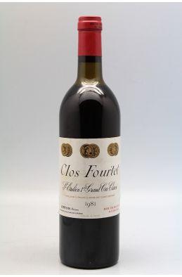 Clos Fourtet 1981 - PROMO - 5% !