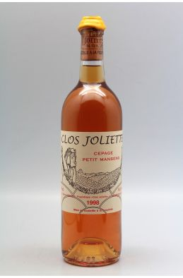 Clos Joliette Jurançon Sec 1998