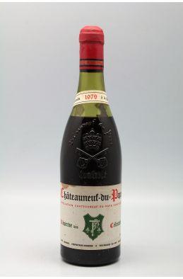Henri Bonneau Châteauneuf du Pape Réserve des Célestins 1979 -40% DISCOUNT !