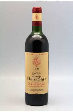 Phélan Ségur 1990 -10% DISCOUNT !