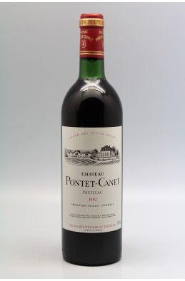 Pontet Canet 1982