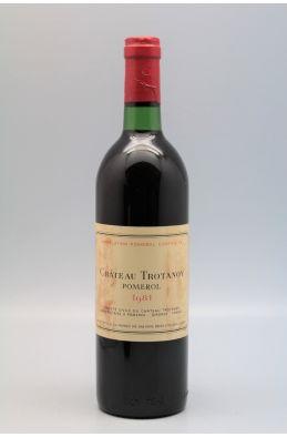 Trotanoy 1981 - PROMO -5% !