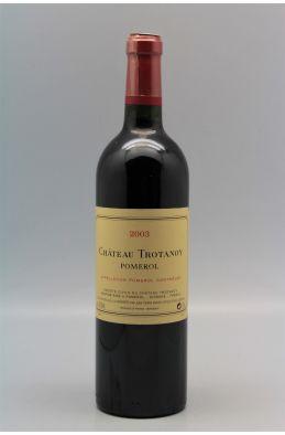 Trotanoy 2003