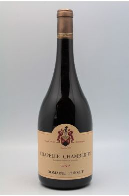 Ponsot Chapelle Chambertin 2012 Magnum