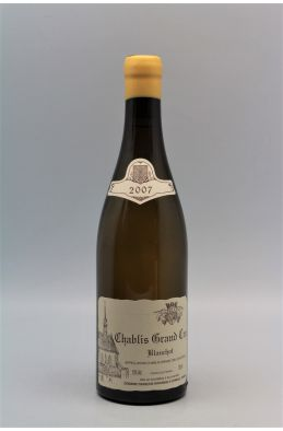 Raveneau Chablis Grand cru Blanchot 2007