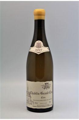Raveneau Chablis Grand cru Clos 2007
