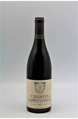Charles Joguet Chinon Les Varennes du Grand Clos Franc de Pied 1993