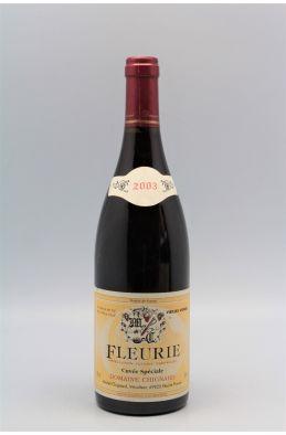 Chignard Fleurie Cuvée Spéciale Vieilles Vignes 2003