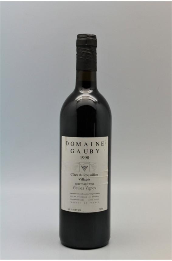 Gauby Côtes du Roussillon Villages Vieilles Vignes 1998