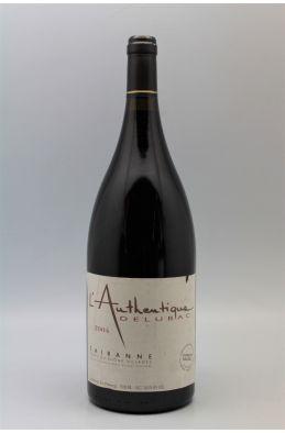 Delubac Côtes du Rhône Villages Cairanne l'Authentique 2004 Magnum