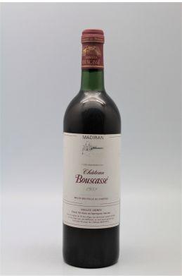 Bouscassé Madiran Vieilles Vignes 1988