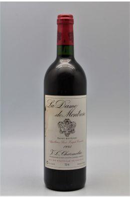 Dame de Montrose 1995 - PROMO -5% !