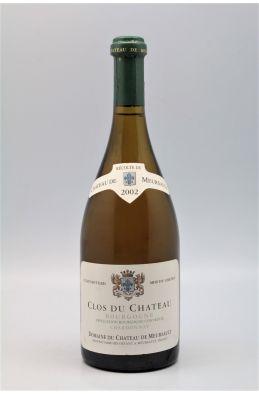 Château de Meursault Bourgogne Clos du Château 2002
