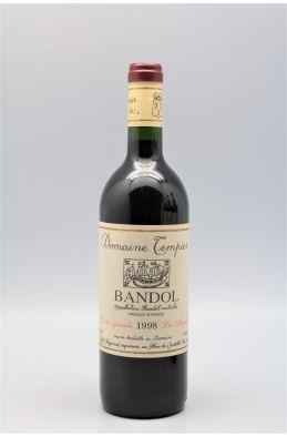 Tempier Bandol Cuvée Spéciale La Migoua 1998