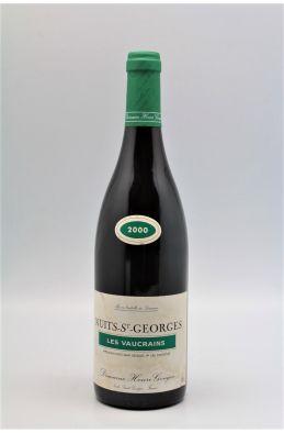 Henri Gouges Nuits Saint Georges 1er cru Les Vaucrains 2000