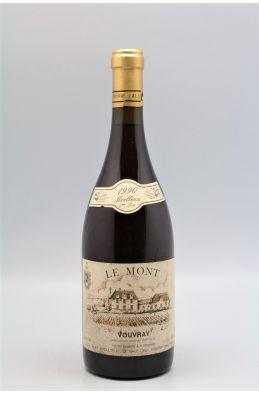 Huet Vouvray Le Mont Moelleux 1ère Trie 1990