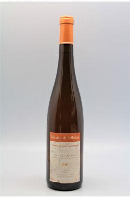 Bellivière Côteau du Loir Vieilles Vignes Eparses 2002 blanc