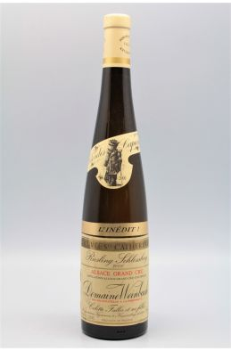 Weinbach Alsace Grand cru Riesling Schlossberg Cuvée Ste Catherine l'Inédit 2000