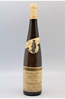 Weinbach Alsace Grand cru Riesling Schlossberg Cuvée Ste Catherine 2001
