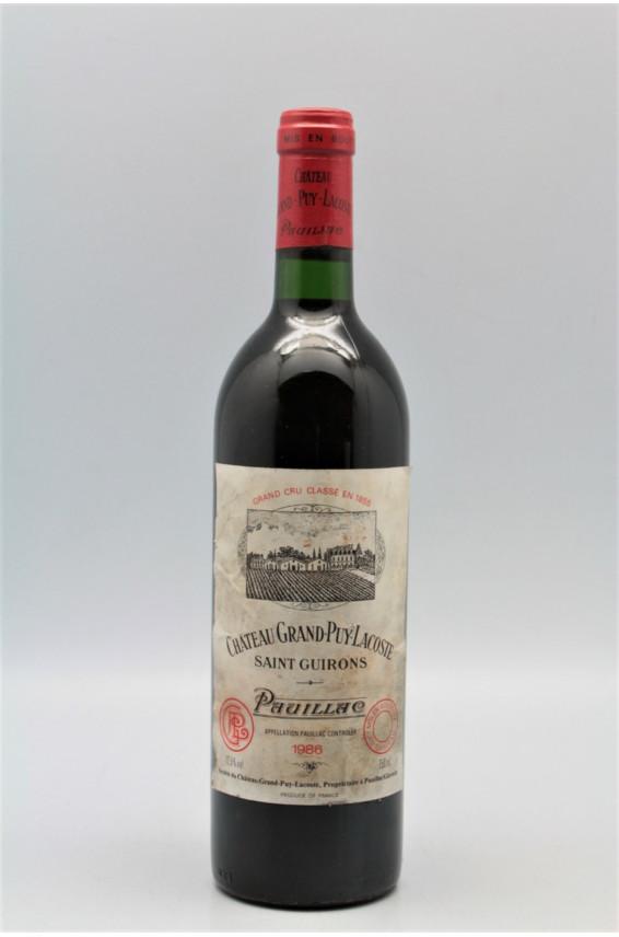 Grand Puy Lacoste 1986 - PROMO -5% !