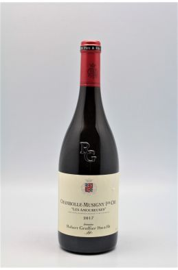 Groffier Chambolle Musigny 1er cru Les Amoureuses 2017