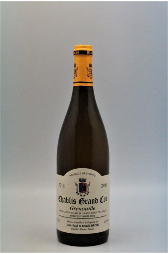 Jean Paul Droin Chablis Grand cru Grenouille 2014