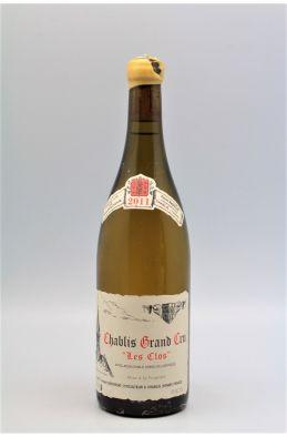 Vincent Dauvissat Chablis Grand cru Les Clos 2011