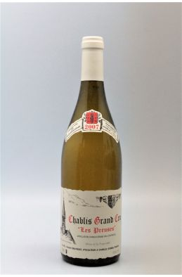 Vincent Dauvissat Chablis Grand cru Les Preuses 2007