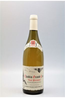 Vincent Dauvissat Chablis Grand cru Les Preuses 2008