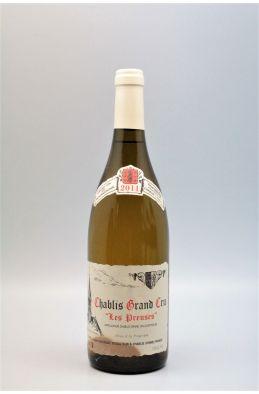 Vincent Dauvissat Chablis Grand cru Les Preuses 2011 -5% DISCOUNT !