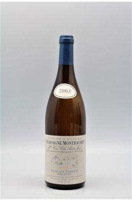 Parigot Chassagne Montrachet 1er cru Clos saint Jean 2003