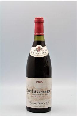 Bouchard P&F Latricières Chambertin 1986