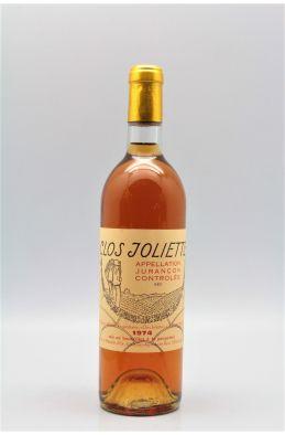 Clos Joliette Jurançon Sec 1974