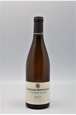 Coffinet Duvernay Chassagne Montrachet 1er cru Dent de Chien 2013
