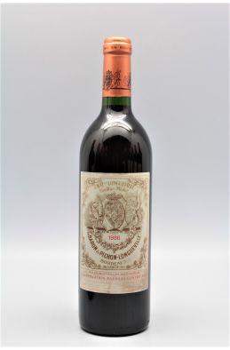 Pichon Longueville Baron 1986 - PROMO -5% !