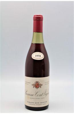 René Monnier Beaune Cent Vignes 1970