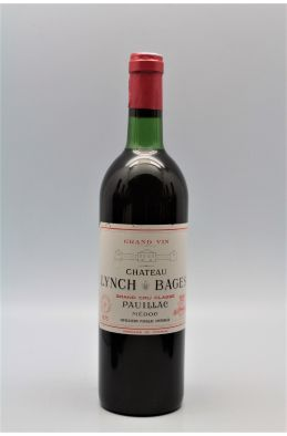 Lynch Bages 1975