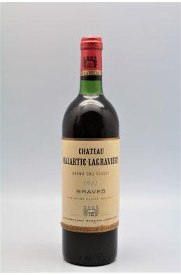 Malartic Lagravière 1977