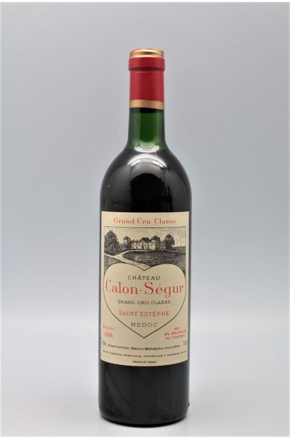 Calon Ségur 1986