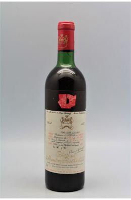 Mouton Rothschild 1972